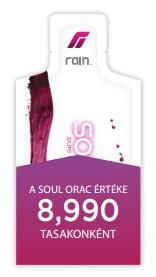 A Rain Soul ORAC értéke kiemelkedő