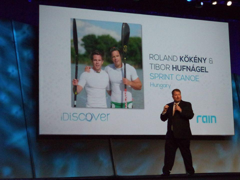 Kökény Roland és Hufnágel Tibor - kajakozók is a Soul-t fogyasztják