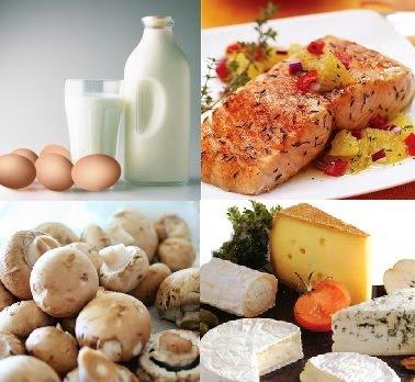D-vitamin az ételeinkben