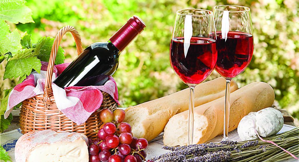 Vörösbor, szőlő