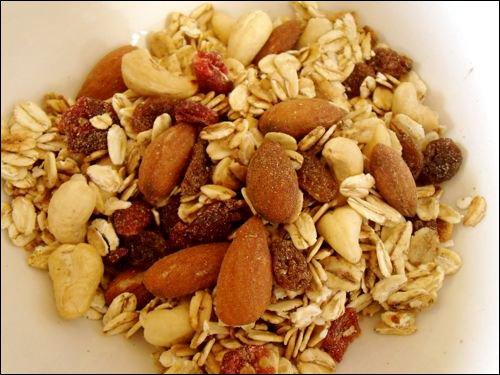 müzli - az egyik legjobb természetes energiaszintet növelő étel