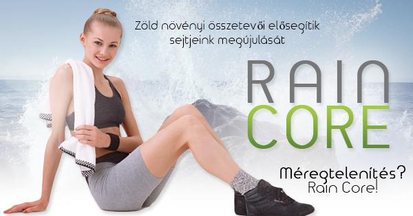 Rain Core - egy tiszta tápanyagforrás csupa zöld összetevővel